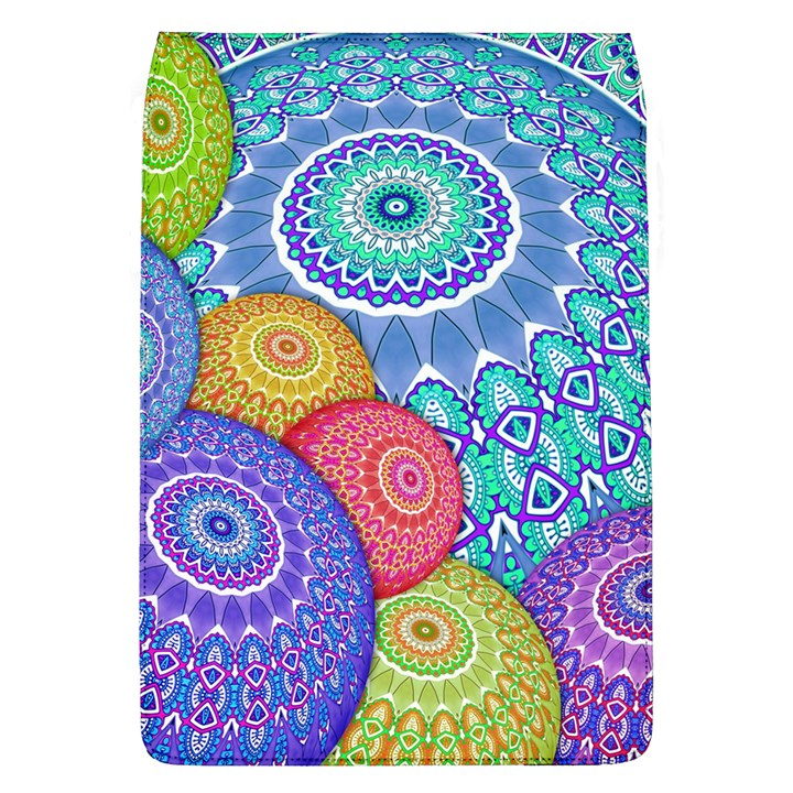 India Ornaments Mandala Balls Multicolored Flap Covers (L)
