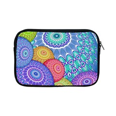 India Ornaments Mandala Balls Multicolored Apple Ipad Mini Zipper Cases by EDDArt