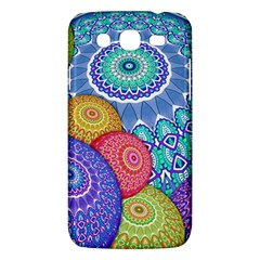 India Ornaments Mandala Balls Multicolored Samsung Galaxy Mega 5 8 I9152 Hardshell Case  by EDDArt
