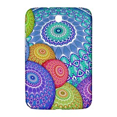 India Ornaments Mandala Balls Multicolored Samsung Galaxy Note 8 0 N5100 Hardshell Case  by EDDArt