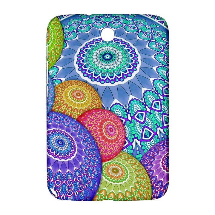 India Ornaments Mandala Balls Multicolored Samsung Galaxy Note 8.0 N5100 Hardshell Case