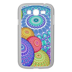 India Ornaments Mandala Balls Multicolored Samsung Galaxy Grand Duos I9082 Case (white) by EDDArt