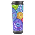 India Ornaments Mandala Balls Multicolored Travel Tumbler Left