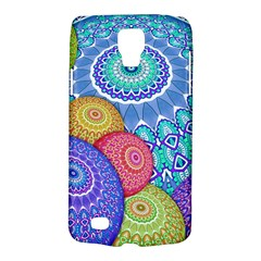India Ornaments Mandala Balls Multicolored Galaxy S4 Active by EDDArt