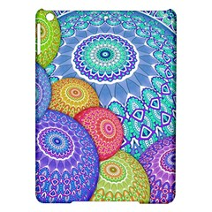 India Ornaments Mandala Balls Multicolored Ipad Air Hardshell Cases by EDDArt