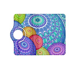 India Ornaments Mandala Balls Multicolored Kindle Fire Hd (2013) Flip 360 Case by EDDArt