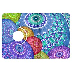 India Ornaments Mandala Balls Multicolored Kindle Fire Hdx Flip 360 Case by EDDArt