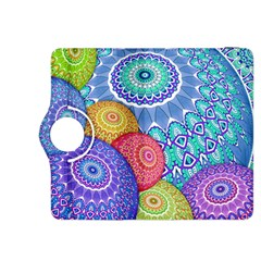India Ornaments Mandala Balls Multicolored Kindle Fire Hdx 8 9  Flip 360 Case by EDDArt