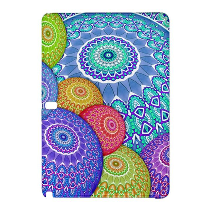 India Ornaments Mandala Balls Multicolored Samsung Galaxy Tab Pro 10.1 Hardshell Case