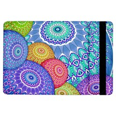 India Ornaments Mandala Balls Multicolored Ipad Air Flip by EDDArt