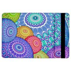 India Ornaments Mandala Balls Multicolored iPad Air 2 Flip