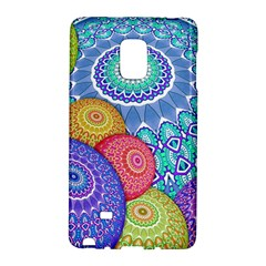 India Ornaments Mandala Balls Multicolored Galaxy Note Edge by EDDArt
