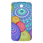 India Ornaments Mandala Balls Multicolored Samsung Galaxy Mega I9200 Hardshell Back Case Front