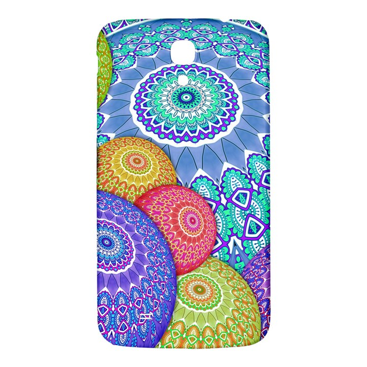 India Ornaments Mandala Balls Multicolored Samsung Galaxy Mega I9200 Hardshell Back Case