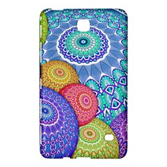 India Ornaments Mandala Balls Multicolored Samsung Galaxy Tab 4 (7 ) Hardshell Case  by EDDArt