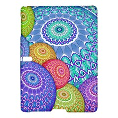 India Ornaments Mandala Balls Multicolored Samsung Galaxy Tab S (10 5 ) Hardshell Case  by EDDArt