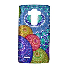 India Ornaments Mandala Balls Multicolored Lg G4 Hardshell Case by EDDArt