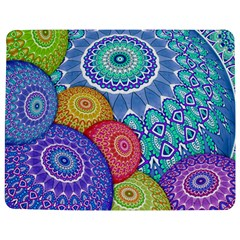 India Ornaments Mandala Balls Multicolored Jigsaw Puzzle Photo Stand (rectangular) by EDDArt
