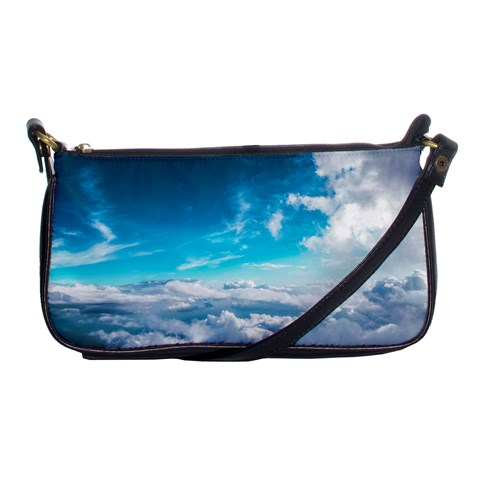 Cloudy Day Clutch Purse By Ann   Shoulder Clutch Bag   Gp1bsua67ocr   Www Artscow Com Front