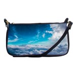 Cloudy Day Clutch Purse - Shoulder Clutch Bag