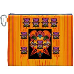 Clothing (20)6k,kk  O Canvas Cosmetic Bag (xxxl) by MRTACPANS