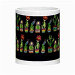Cute Cactus Blossom Night Luminous Mugs Center