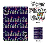 Cute Cactus Blossom Playing Cards 54 Designs  Front - Club4