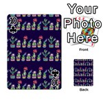 Cute Cactus Blossom Playing Cards 54 Designs  Front - Club10