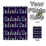 Cute Cactus Blossom Playing Cards 54 Designs  Back