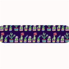 Cute Cactus Blossom Large Bar Mats