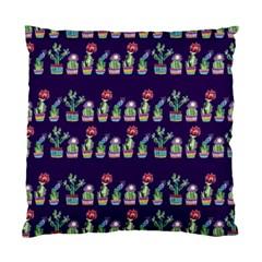Cute Cactus Blossom Standard Cushion Case (one Side)