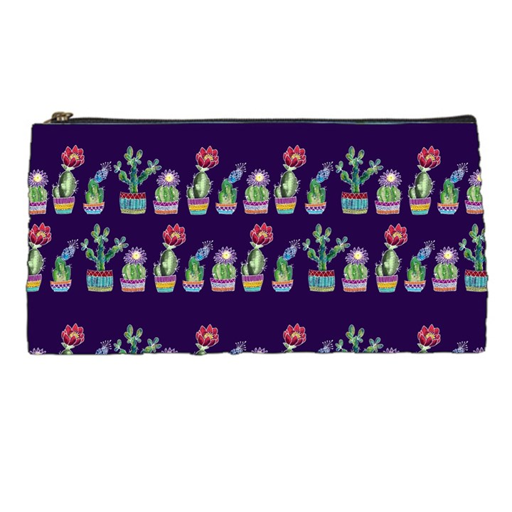 Cute Cactus Blossom Pencil Cases