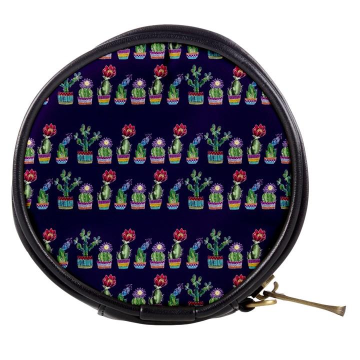 Cute Cactus Blossom Mini Makeup Bags