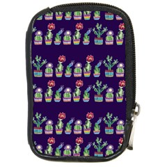 Cute Cactus Blossom Compact Camera Cases by DanaeStudio