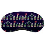Cute Cactus Blossom Sleeping Masks Front