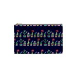 Cute Cactus Blossom Cosmetic Bag (Small)  Front