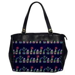 Cute Cactus Blossom Office Handbags