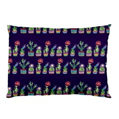 Cute Cactus Blossom Pillow Case (two Sides) by DanaeStudio