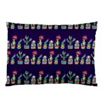 Cute Cactus Blossom Pillow Case (Two Sides) Front