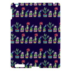 Cute Cactus Blossom Apple Ipad 3/4 Hardshell Case by DanaeStudio