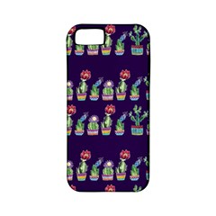 Cute Cactus Blossom Apple Iphone 5 Classic Hardshell Case (pc+silicone) by DanaeStudio