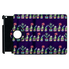 Cute Cactus Blossom Apple Ipad 2 Flip 360 Case by DanaeStudio