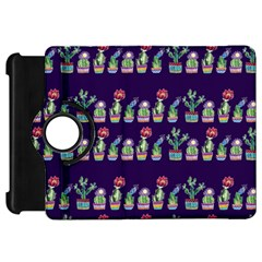 Cute Cactus Blossom Kindle Fire Hd Flip 360 Case by DanaeStudio