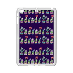 Cute Cactus Blossom Ipad Mini 2 Enamel Coated Cases by DanaeStudio