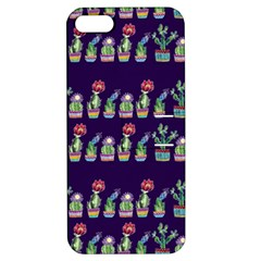 Cute Cactus Blossom Apple Iphone 5 Hardshell Case With Stand by DanaeStudio