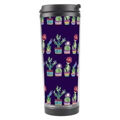 Cute Cactus Blossom Travel Tumbler by DanaeStudio
