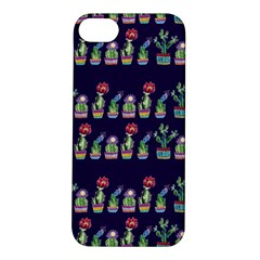 Cute Cactus Blossom Apple Iphone 5s/ Se Hardshell Case by DanaeStudio