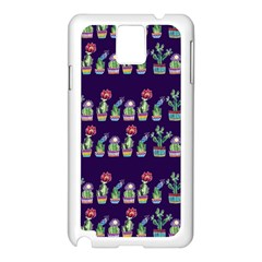 Cute Cactus Blossom Samsung Galaxy Note 3 N9005 Case (white)