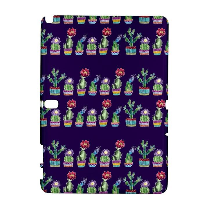 Cute Cactus Blossom Samsung Galaxy Note 10.1 (P600) Hardshell Case