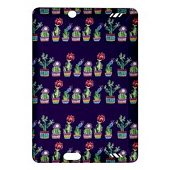 Cute Cactus Blossom Amazon Kindle Fire Hd (2013) Hardshell Case by DanaeStudio